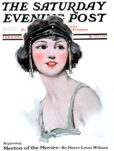 1920s Saturday Evening Post cover