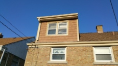 New siding completely changed the look of the back of our house!